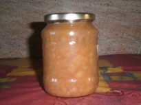 apple, pears and quince jam