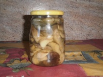 marinated mushroom