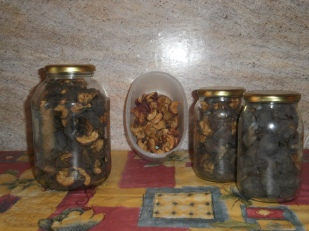 dried apples and pears