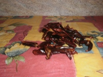dried chilli without seeds